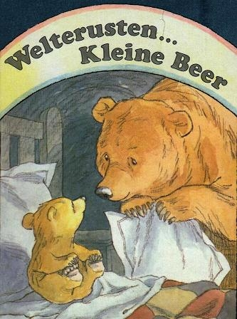how to say little bear in german
