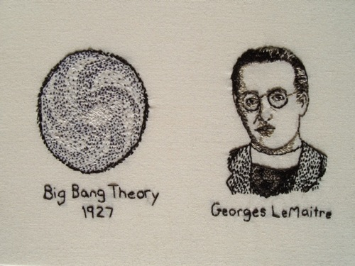 Georges LeMaitre, Big Bang Theory